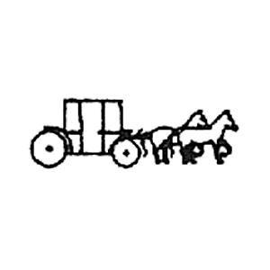 Guldbolaget - Invändig gravyrsymbol: Häst och vagn