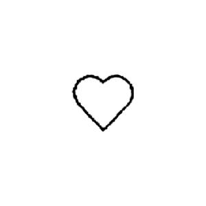 Guldbolaget - Invändig gravyrsymbol: Hjärta