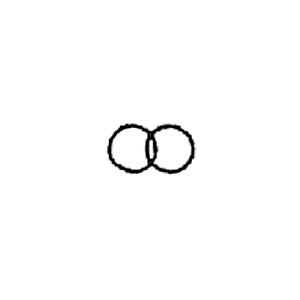 Guldbolaget - Invändig gravyrsymbol: Ringarna